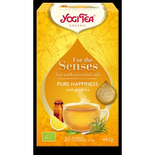 Yogi Tea Herbata Ajurvedyjska Zielona imbirowo-cytrynowa