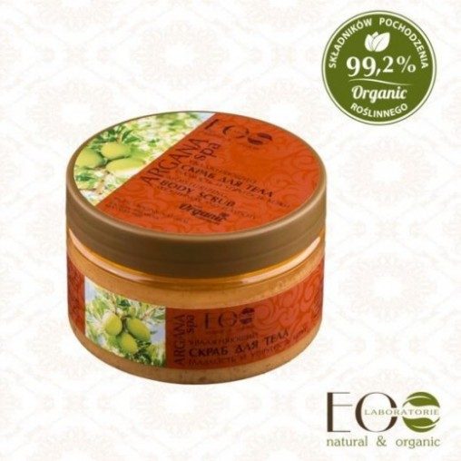Eco Lab Argan Spa Scrub do...